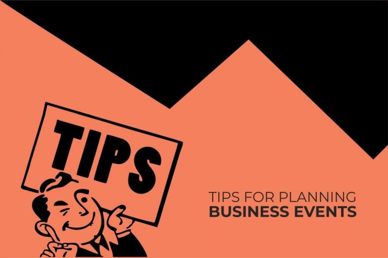 Tips For Planning Business Events